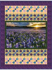 Blue Bonnets Quilt Pattern