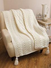 Kerry Aran Afghan Crochet Pattern