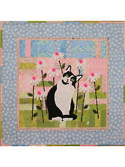 Billie in Blooms Wall Hanging Pattern