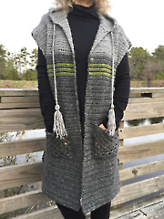 Town & Country Tunic Vest Crochet Pattern