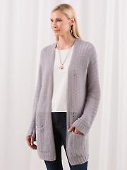 The Simplicity Cardi Crochet Pattern
