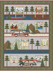 Billboards Lap Quilt Pattern