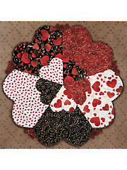 Love Is All Around Table Topper Pattern