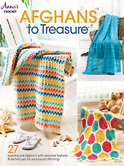 Afghans to Treasure Crochet Pattern Book