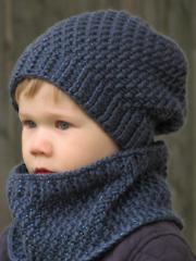 Portland Slouchy Hat & Cowl Set Crochet Pattern