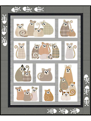 All the Purrs Quilt Pattern