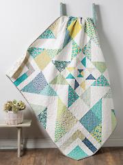 Triple Barnstar Quilt Pattern or Kit