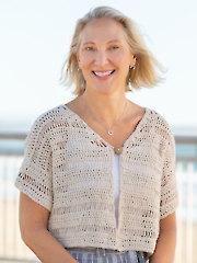 ANNIE'S SIGNATURE DESIGNS: Sand Dune Cardi Crochet Pattern