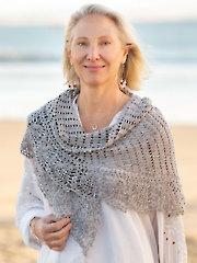 ANNIE'S SIGNATURE DESIGNS: Pineapple Rain Shawl Crochet Pattern