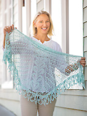 ANNIE'S SIGNATURE DESIGNS: Hearts Align Shawl Crochet Pattern