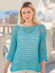 ANNIE'S SIGNATURE DESIGNS: Beach Walk Tunic Crochet Pattern