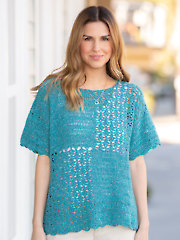 ANNIE'S SIGNATURE DESIGNS: Soulmate Tee Crochet Pattern