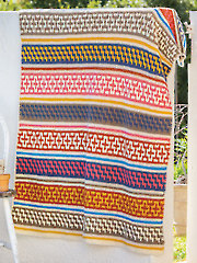 ANNIE'S SIGNATURE DESIGNS: Morocco Mosaic Afghan Crochet Pattern