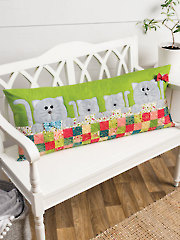 EXCLUSIVELY ANNIE'S QUILT DESIGNS: Purrfectly Comfy Pillow Pattern