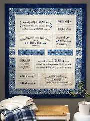 EXCLUSIVELY ANNIE'S QUILT DESIGNS: Faithful Friends Quilt Pattern or Kit
