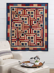 EXCLUSIVELY ANNIE'S QUILT DESIGNS: Old Glory Quilt Pattern