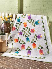 EXCLUSIVELY ANNIE'S QUILT DESIGNS: Tulip Garden Quilt Pattern