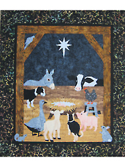 Barnyard Christmas Quilt Pattern or Kit