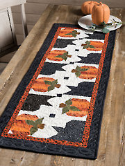 EXCLUSIVELY ANNIE'S QUILT DESIGNS: Pumpkin Hollow Table Runner Pattern