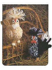 Farmhouse Chickens Crochet Pattern