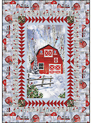 Cardinals and Barn Quilt Pattern