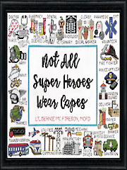 Super Heroes Counted Cross-Stitch Kit