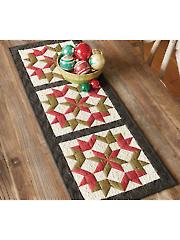 Christmas Star Table Runner Pattern