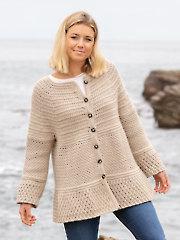 ANNIE'S SIGNATURE DESIGNS: Trinity Crochet Cardigan Pattern
