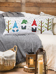 EXCLUSIVELY ANNIE'S QUILT DESIGNS: Gnome Forest Pillow Quilt Pattern