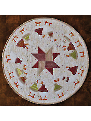 Christmas Quakers Table Topper Pattern