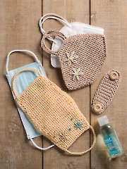 ANNIE'S SIGNATURE DESIGNS: Crochet Face Mask Covers Pattern