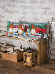Gnome Is Where You Park It Pillow Pattern