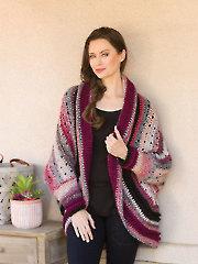 ANNIE'S SIGNATURE DESIGNS: Cabernet Crochet Shrug Pattern