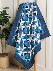 Blueberry Cobbler Quilt Pattern
