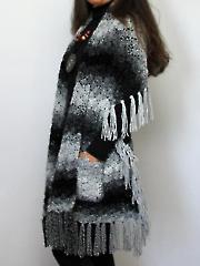 Soapstone Pocket Shawl Crochet Pattern