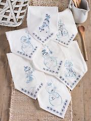 Blues Babies Stitchery Pattern