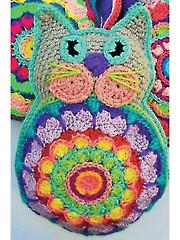 Kismet Kitty Pillow Crochet Pattern