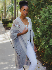 Astrid Ruana Crochet Pattern