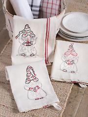 Bake Shop Sweet Hearts Stitchery Pattern