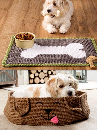 Easy Doggies Accessories Crochet Pattern