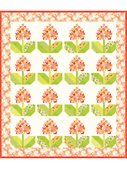 Hydrangeas Quilt Pattern