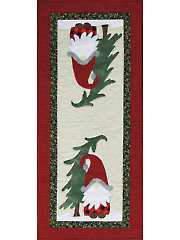 Home with a Gnome Table Runner Pattern