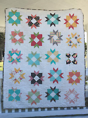 Cake Blossoms Quilt Pattern