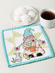 Daisy Mae Mug Rug Pattern