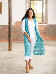 ANNIE'S SIGNATURE DESIGNS: Blossom Hoodie Vest Crochet Pattern