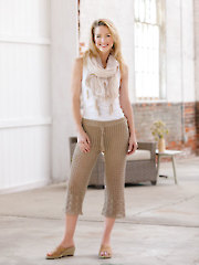 ANNIE'S SIGNATURE DESIGNS: Day Tripper Crochet Pants Pattern