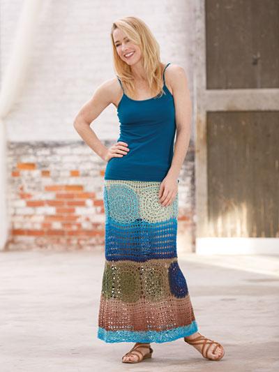 ANNIE'S SIGNATURE DESIGNS: Wildflower Crochet Skirt Pattern
