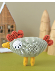 Agatha the Hen Crochet Pattern