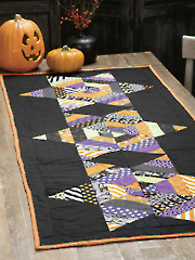 Come Into My Parlor Table Runner