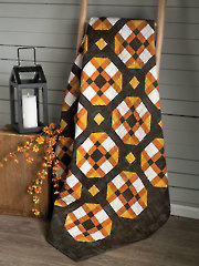 Candy Corn Twist Quilt Pattern